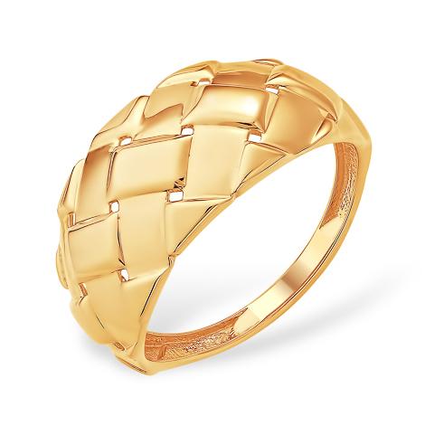 """Кольцо из золота """"плетёнка"""""""
