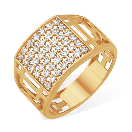 """Широкое кольцо """"печатка"""" для женщин"""