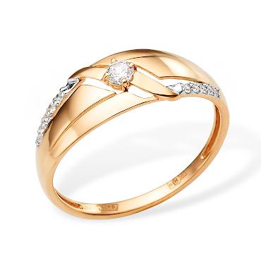 Элегантное кольцо с фианитами