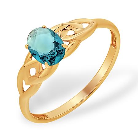 Золоте кольцо с ситал лондоном