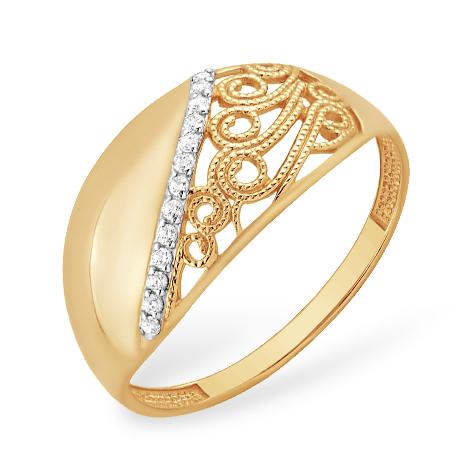 Кольцо с филигранью
