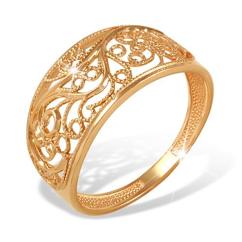 Кольцо из золота без вставок