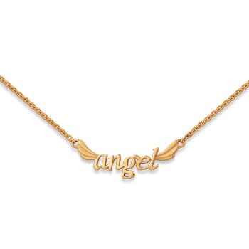 """Колье """"ангел"""" из золота"""