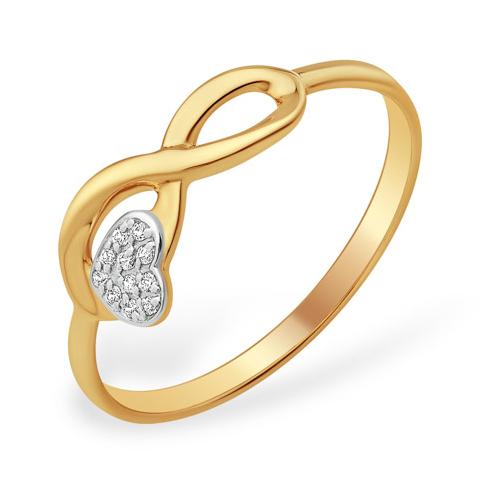 """Золотое кольцо """"бесконечная любовь"""""""