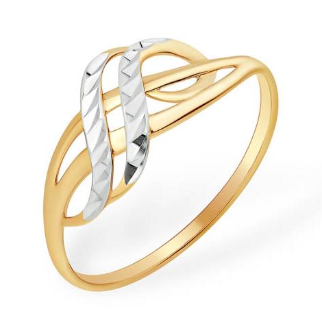 Легкое кольцо с алмазной гранью