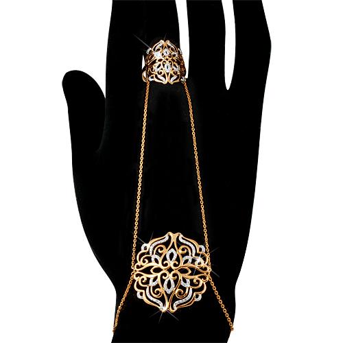 Слейв-браслет с кольцом