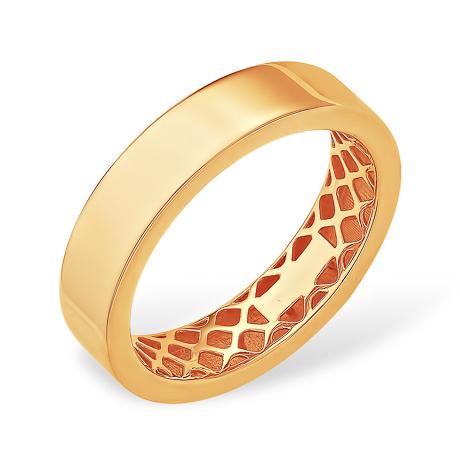 Гладкое золотое кольцо