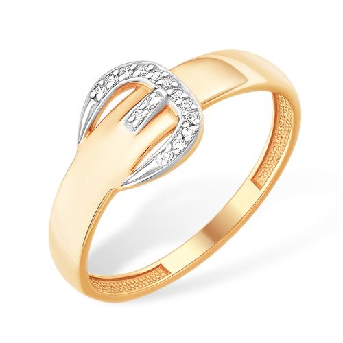 """Золотое кольцо """"ремень"""""""