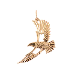 """Подвеска """"парящий орел"""" из золота"""